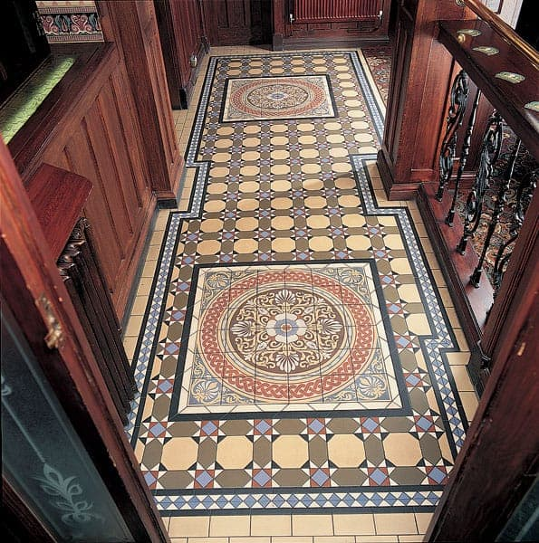 Victorian floor Decorated